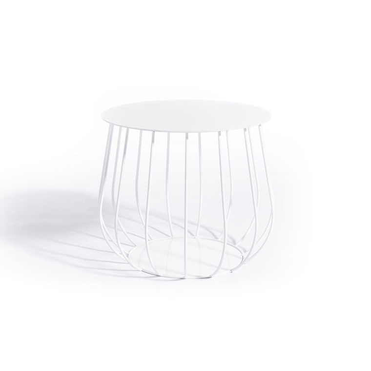 Skargaarden Resö Lounge Table Straight Bars White