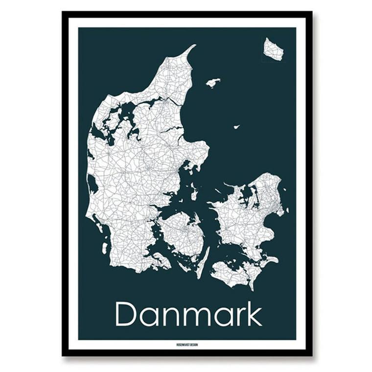 Rosenkvist Design Danmark Plakat