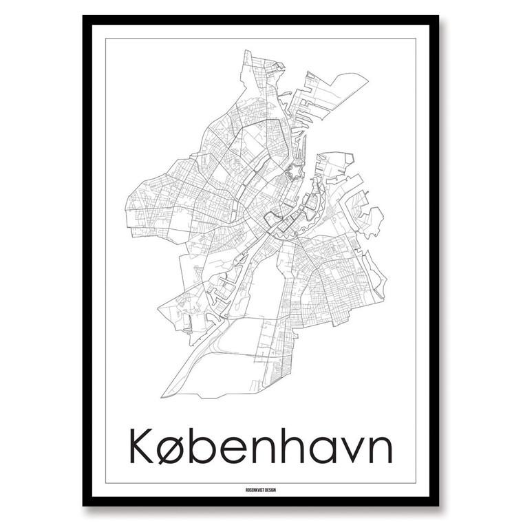 Rosenkvist Design København Plakat