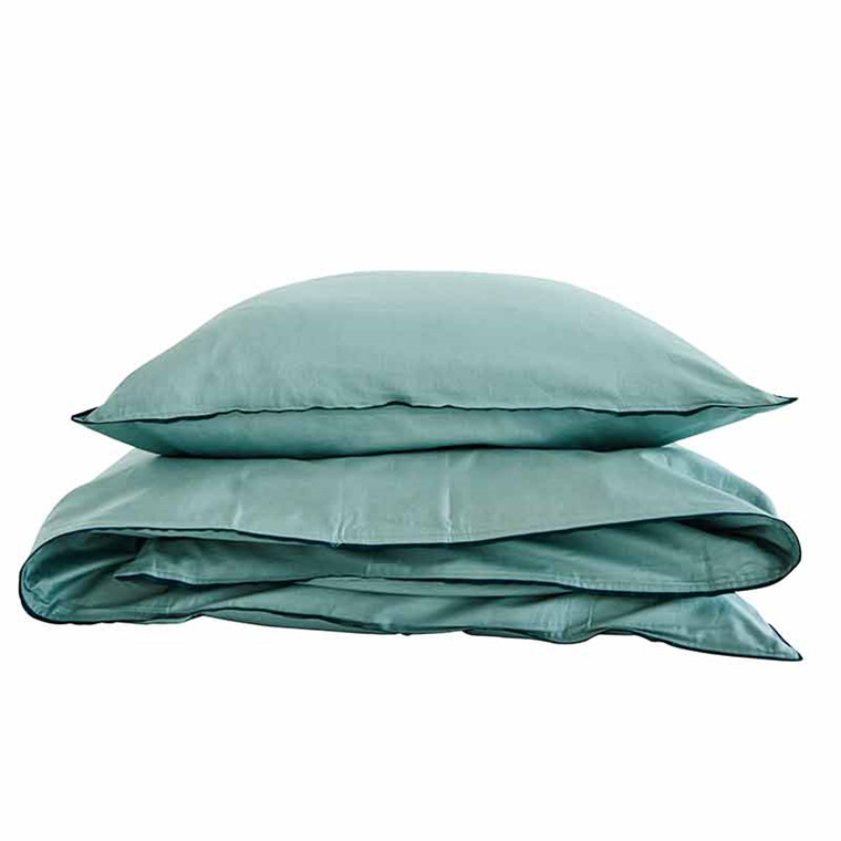 Semibasic A Bed Linen Green/Green