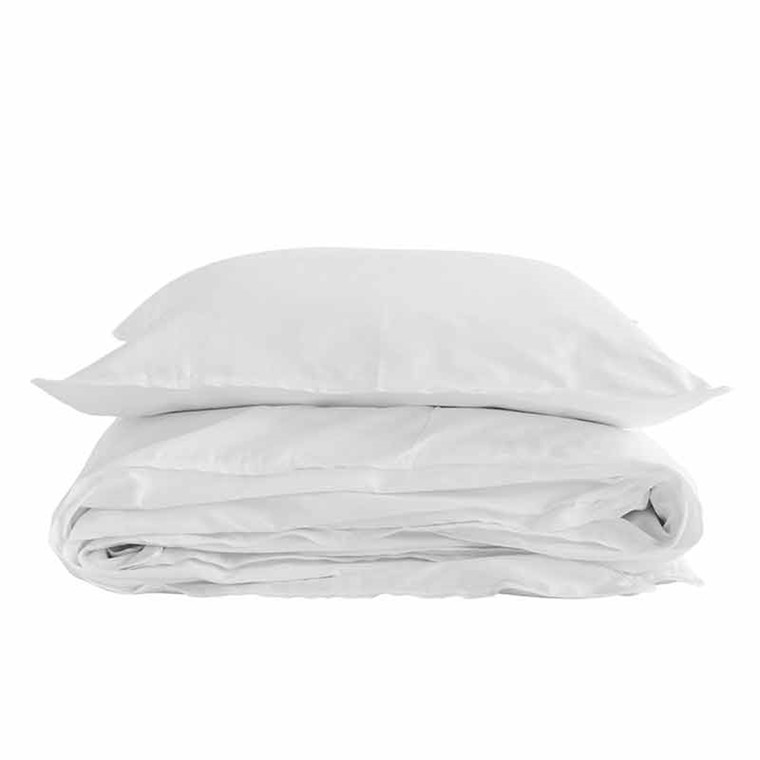 Semibasic A Bed Linen White/White