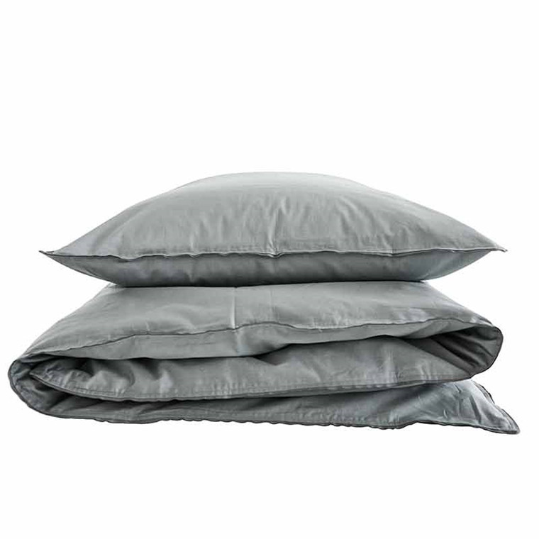 Semibasic A Bed Linen Grey/Grey