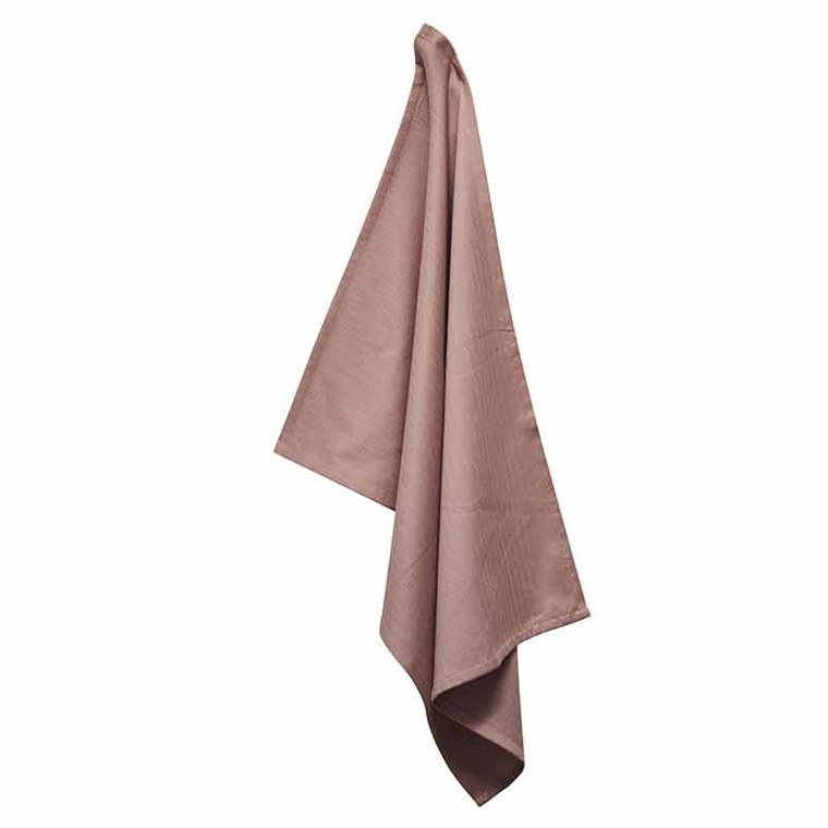 Semibasic DRY Tea Towel Dusty Rose