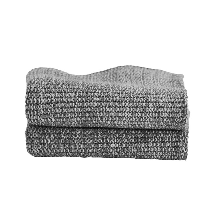 Semibasic HAND Knit Towel Grey