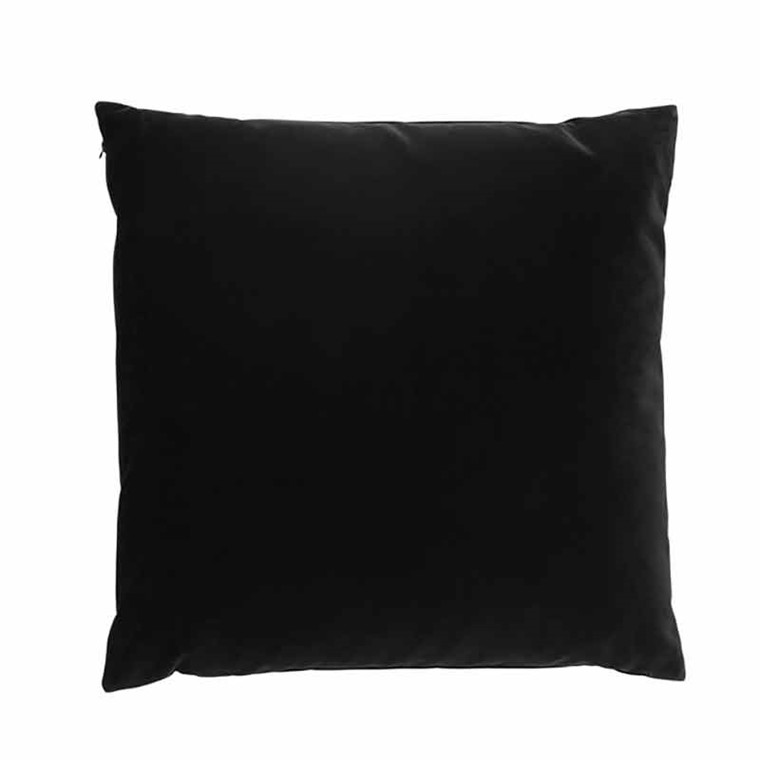 Semibasic LUSH Velour Cushion Black Ink 45 x 45
