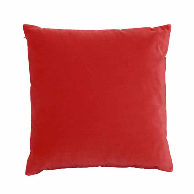 Semibasic LUSH Velour Cushion Coral 45 x 45