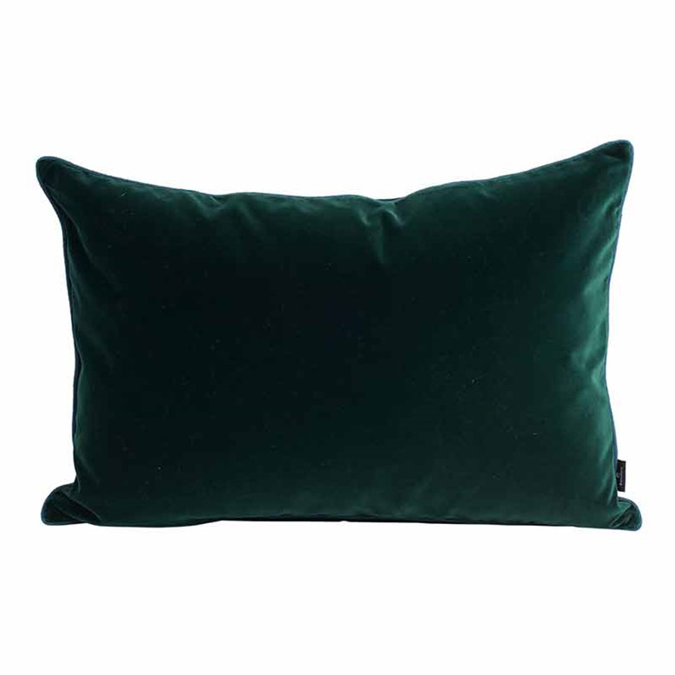 Semibasic LUSH Velour Cushion Green 40 x 60