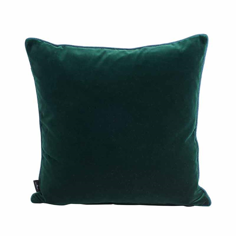 Semibasic LUSH Velour Cushion Green 45 x 45