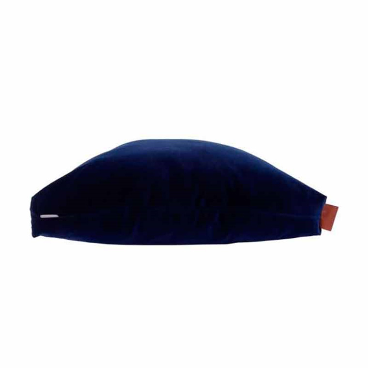 Semibasic PUF Velour Cushion Blue