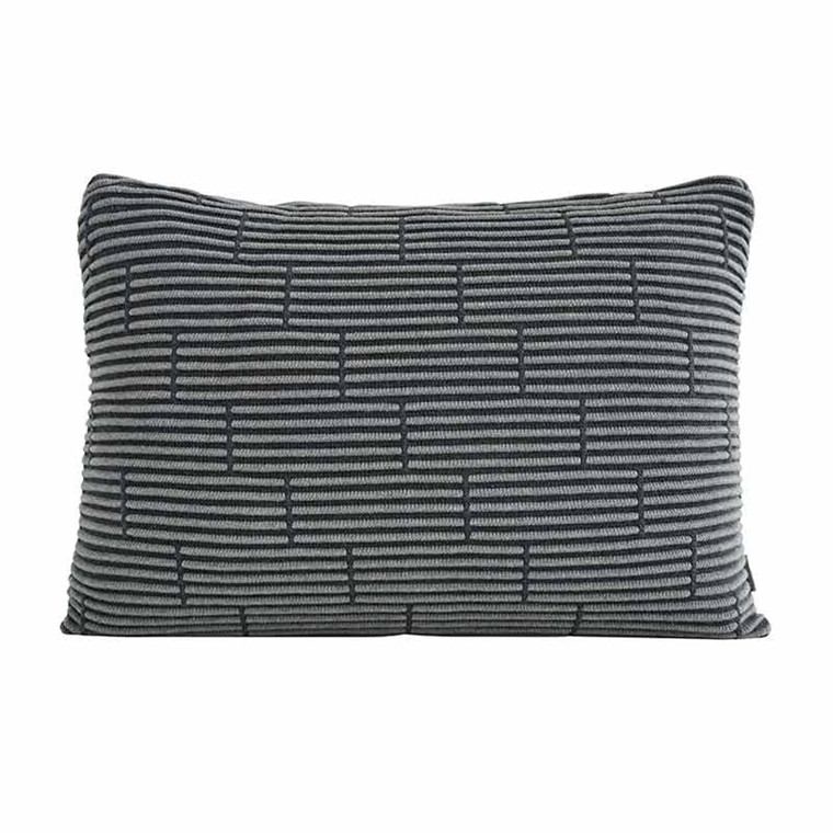 Semibasic STILL Wall Cushion Grey Brick 40 x 60