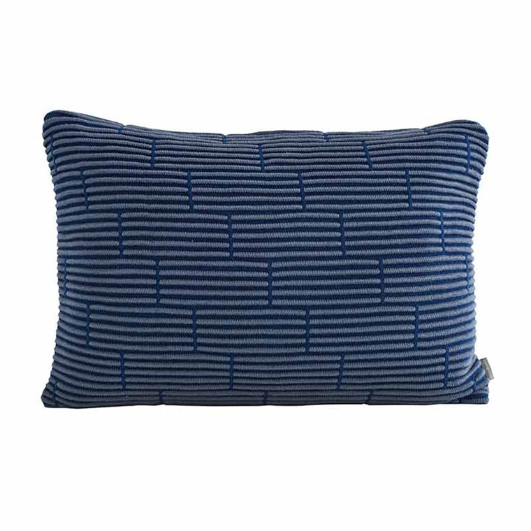 Semibasic STILL Wall Cushion Dusty Blue Brick 40 x 60