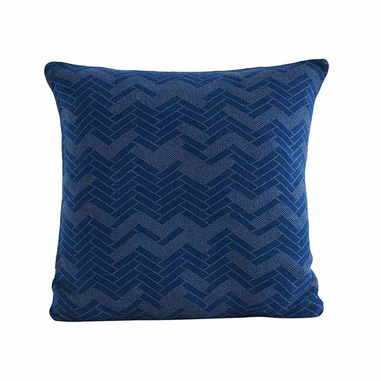 Semibasic STILL Floor Cushion Dusty Blue 50 x 50