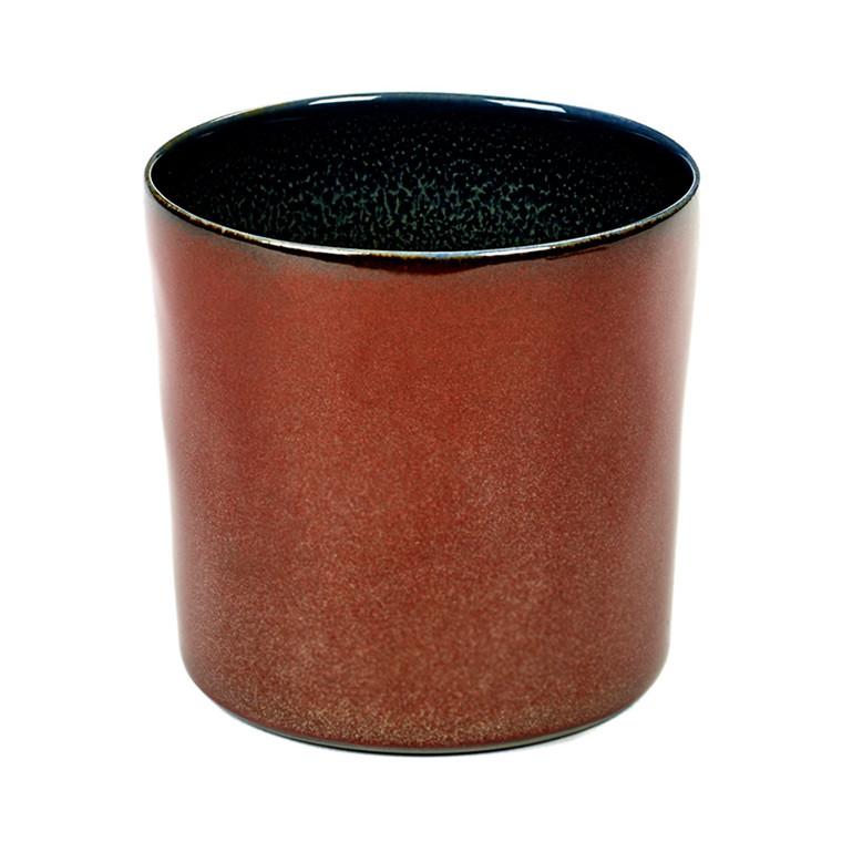 Serax Goblet Cylinder High Dark Blue/Rust