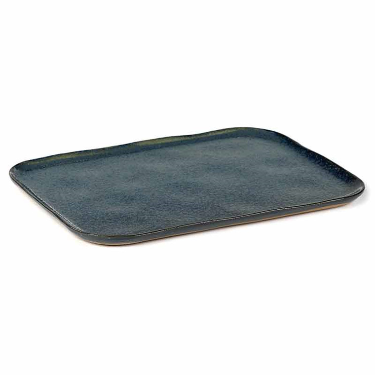 Serax Merci Rectangular Plate No. 1 XL Blue/Grey