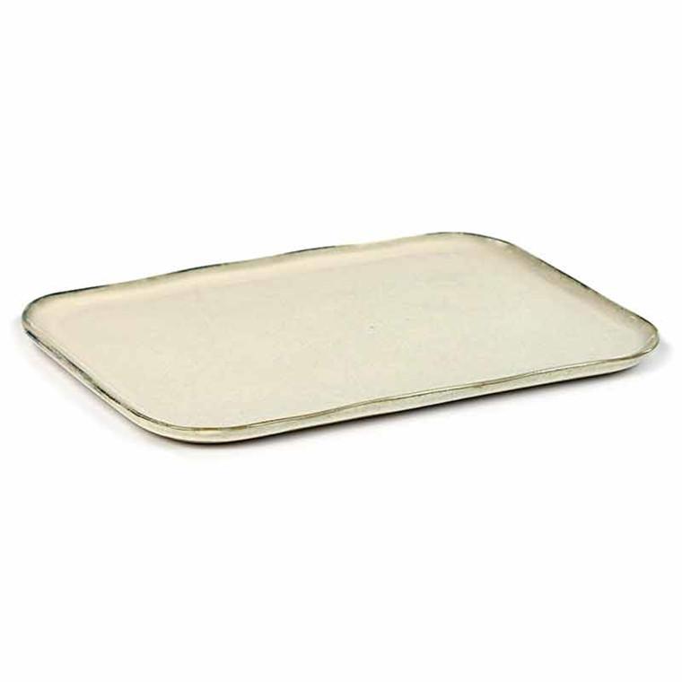 Serax Merci Rectangular Plate No. 1 XL Off White