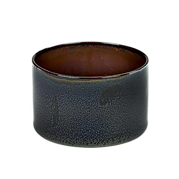 Serax Goblet Cylinder Low Dark Blue/Rust