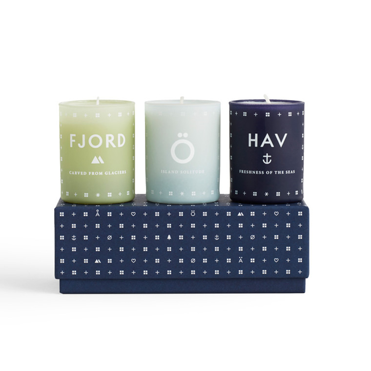 SKANDINAVISK Nature Mini Candle Set