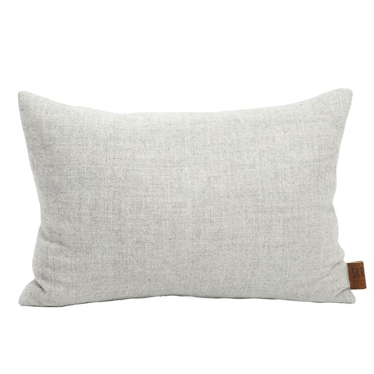 Skriver Collection Baby Alpaca Cushion Light Grey