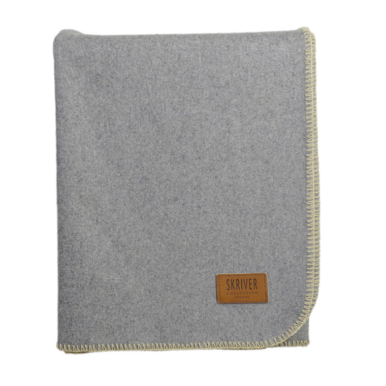 Skriver Collection Wool Plaid Light Grey