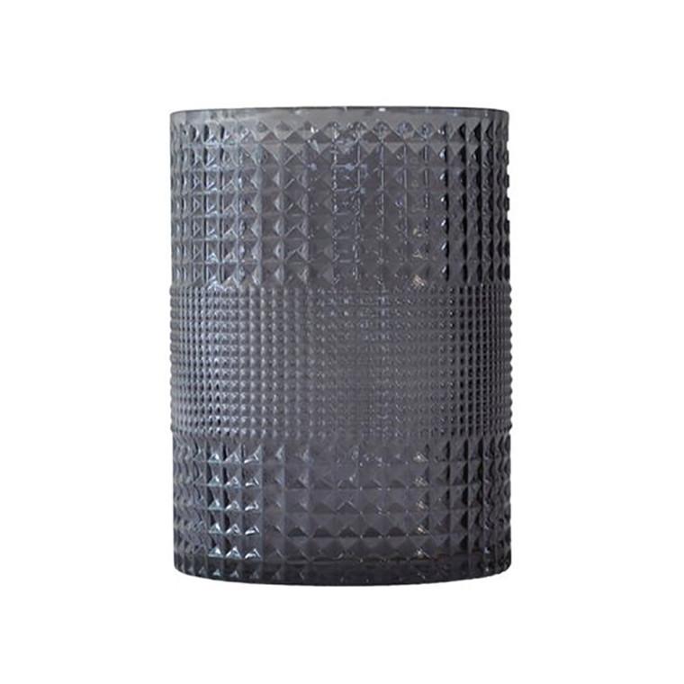 Specktrum Roaring Vase Cylinder Grey