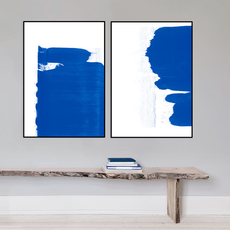 Strups Just Blue Poster No. 3