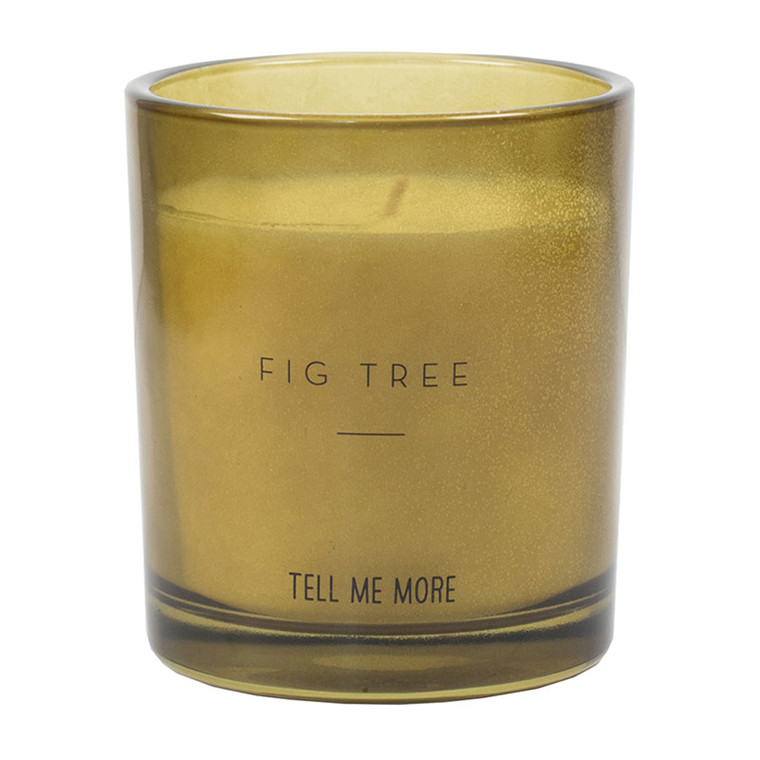 Tell Me More Scented Candle Noir Fig Tree