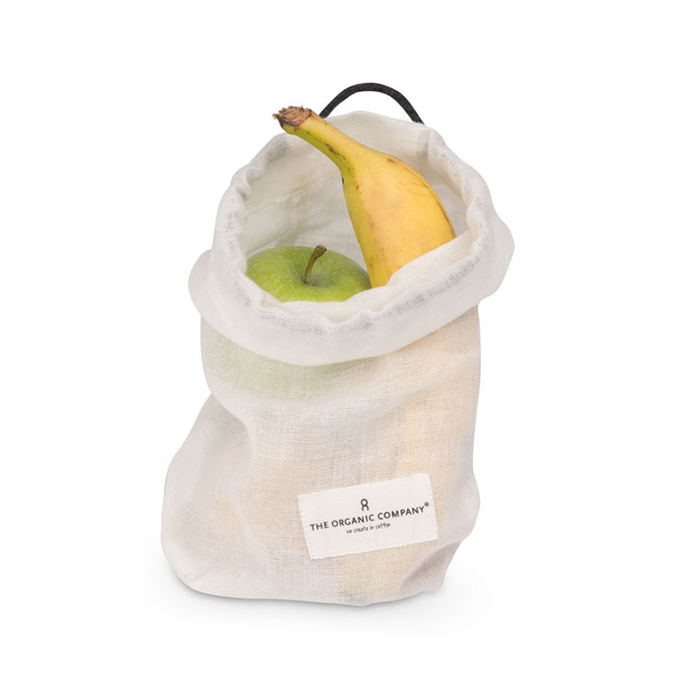 The Organic Company Food Bag Natural White Small