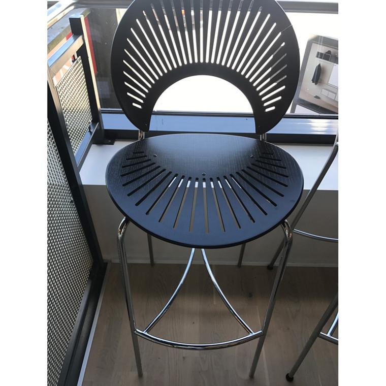 Fredericia Furniture Barstol Krom Udstillingsmodel