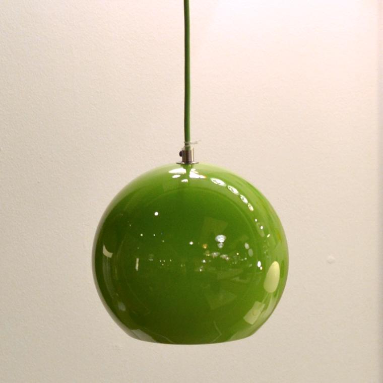 Verner Panton Topan VP6 Green Udstillingsmodel