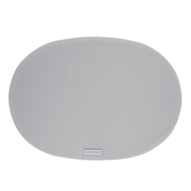 Ørskov & Co. Rubber Placemat Oval Light Grey