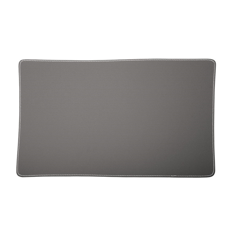 Ørskov & Co. Leather Placemat Square Dark Grey