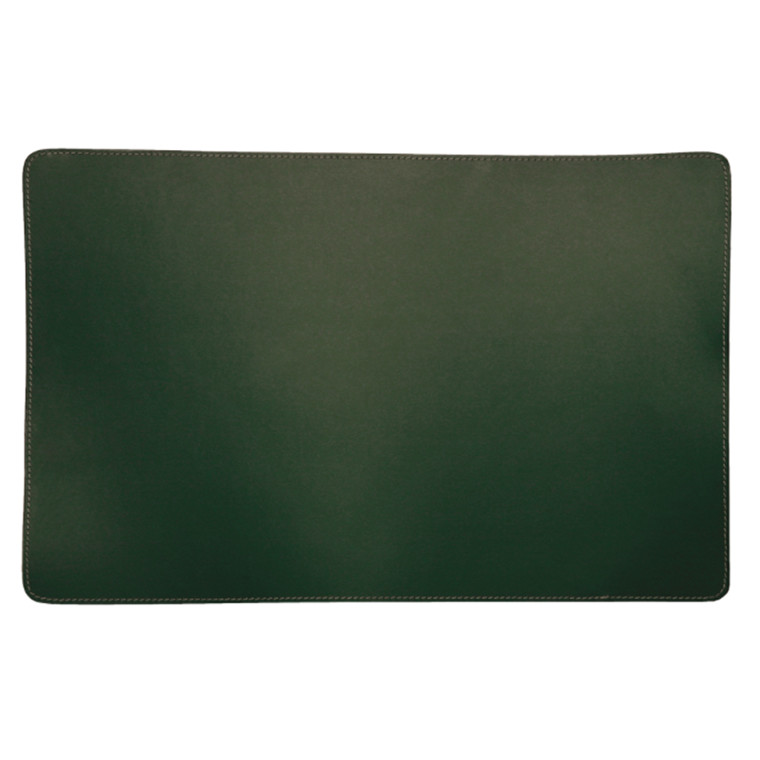Ørskov & Co. Leather Placemat Square Green