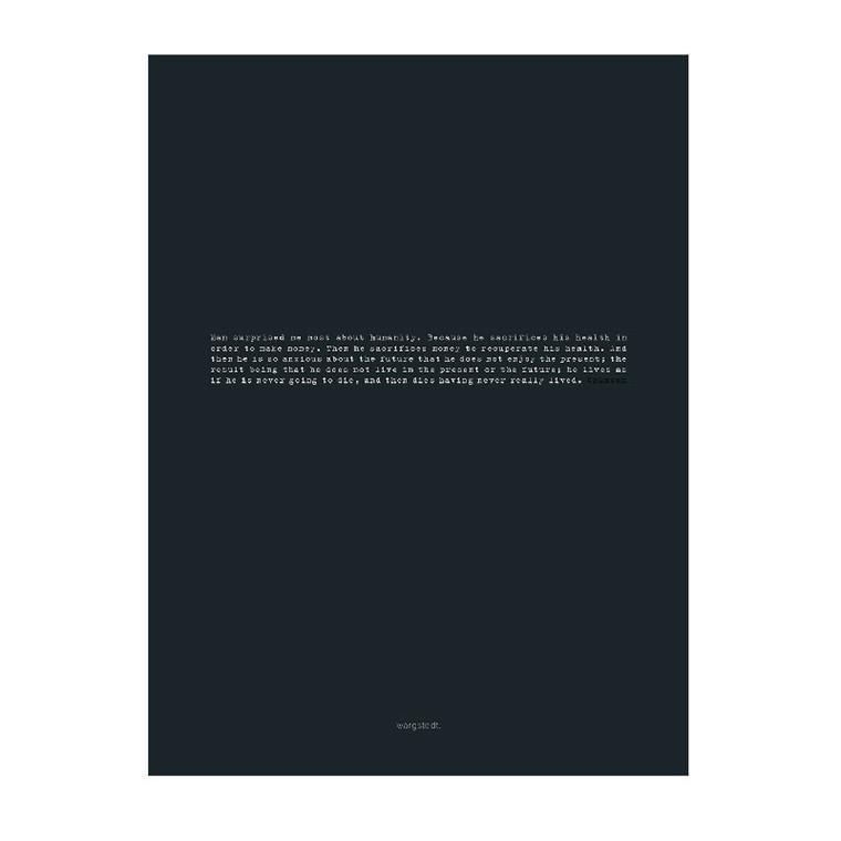 Wargstedt Ocean Black Plakat