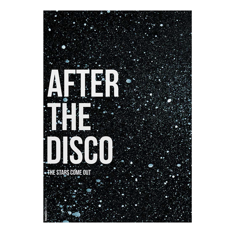 Paradisco Productions After The Disco Plakat