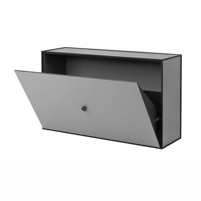 By Lassen Frame Shoe Cabinet Mørkegrå