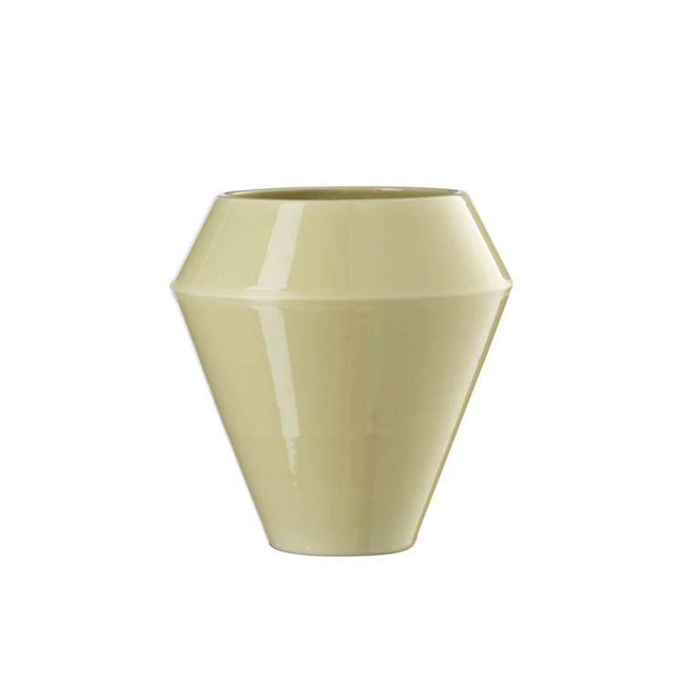 By Lassen Rimm Vase Tall Dusty Yellow