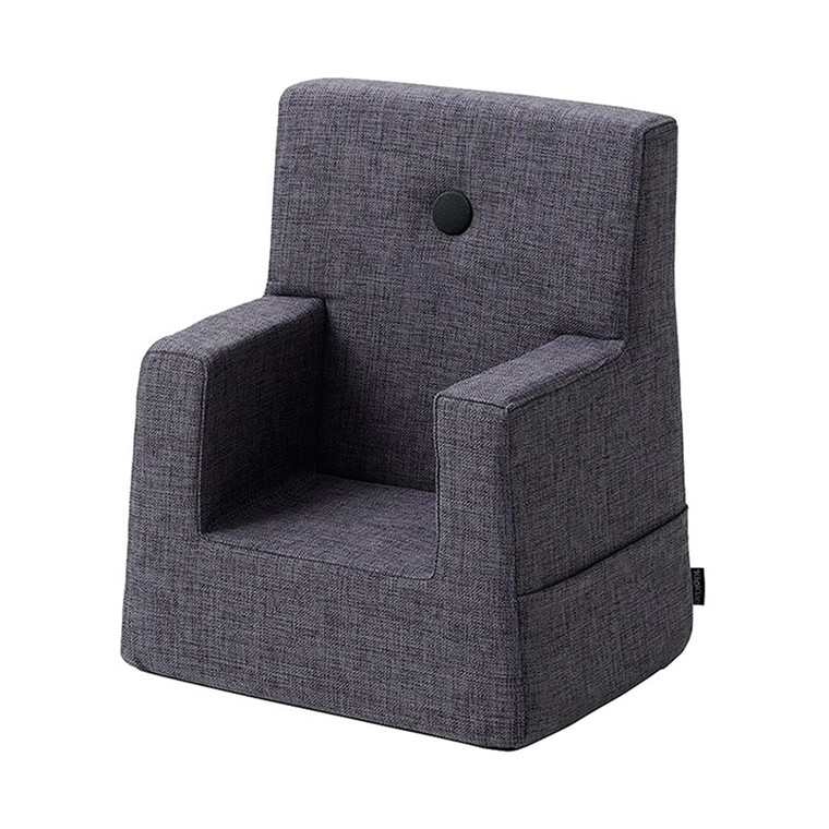 By KlipKlap Kids Chair Blue Grey W. Grey