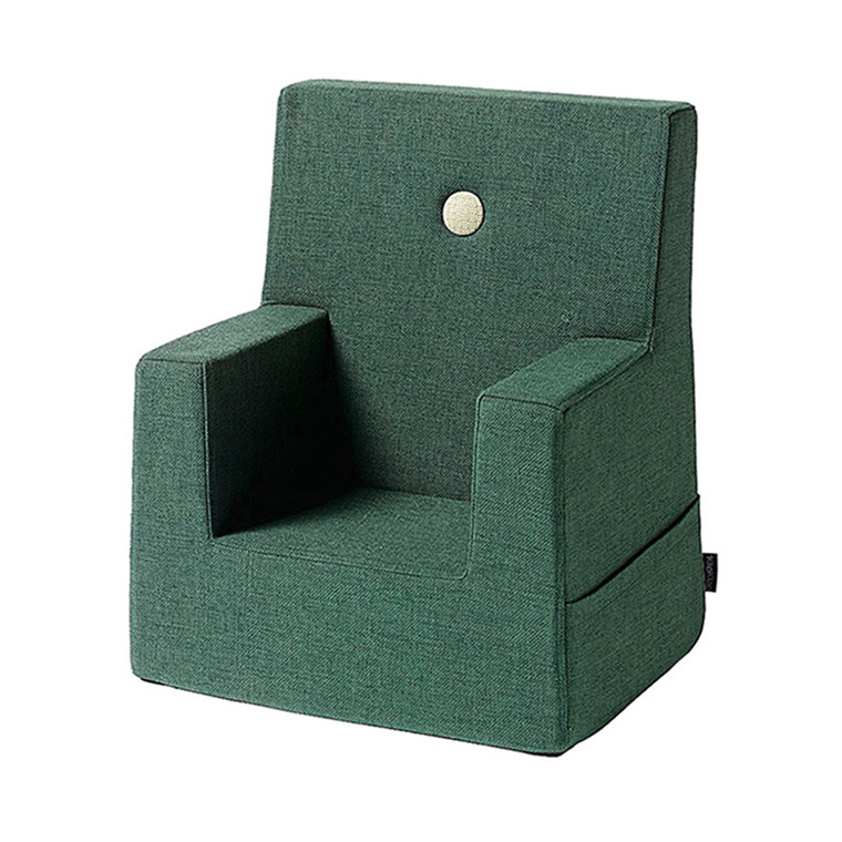 By KlipKlap Kids Chair Deep Green W. Light Green