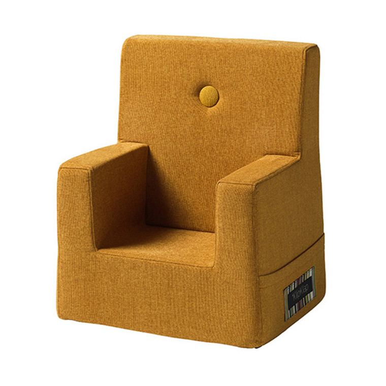 By KlipKlap Kids Chair Mustard W. Mustard