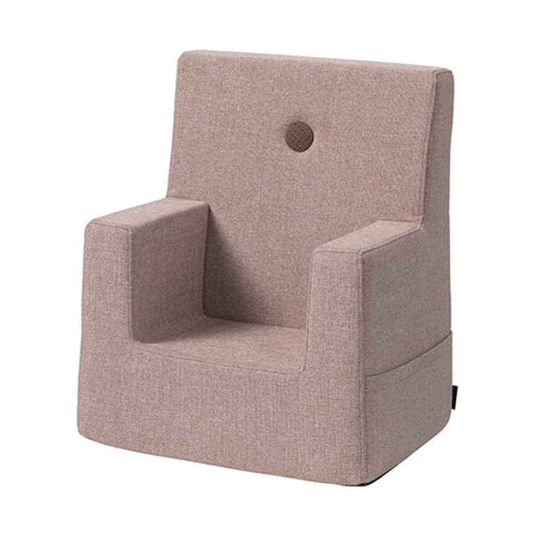 By KlipKlap Kids Chair Soft Rose W. Rose