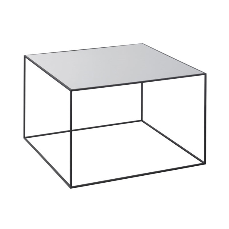 By Lassen Twin Table 49 Cool Grey/Sortbejdset Ask