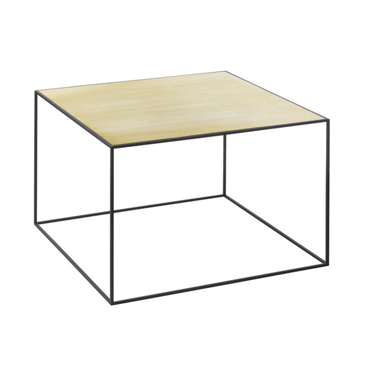 By Lassen Twin Table 49 Messing/Misty Green