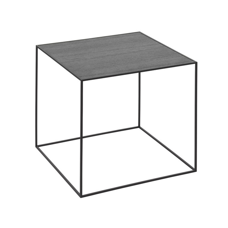 By Lassen Twin Table 42 Cool Grey/Sortbejdset Ask