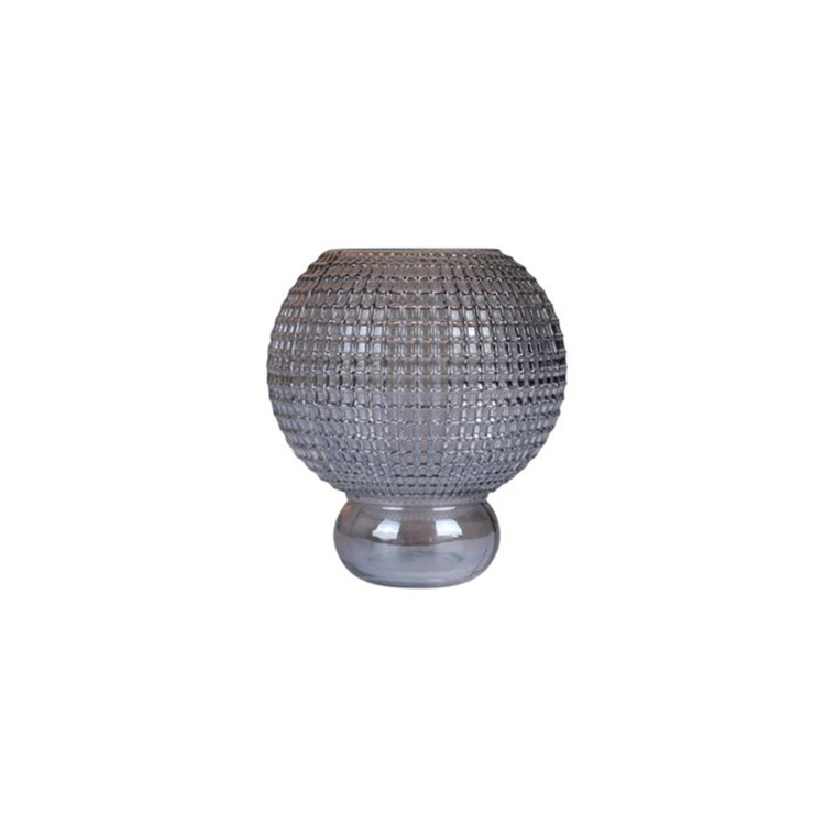 Specktrum Savanna Vase Round Small Grey