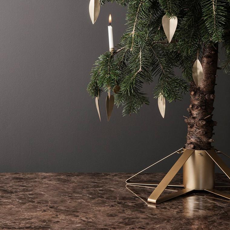 Ferm Living Christmas Tree Foot Brass