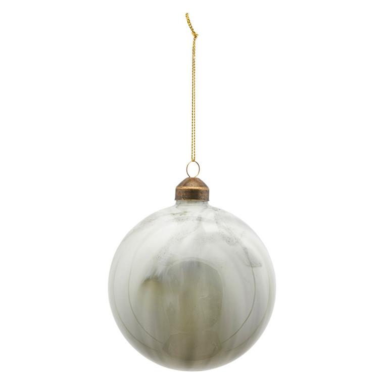 House Doctor Brush Ornament Grey/Green Ø 10 cm