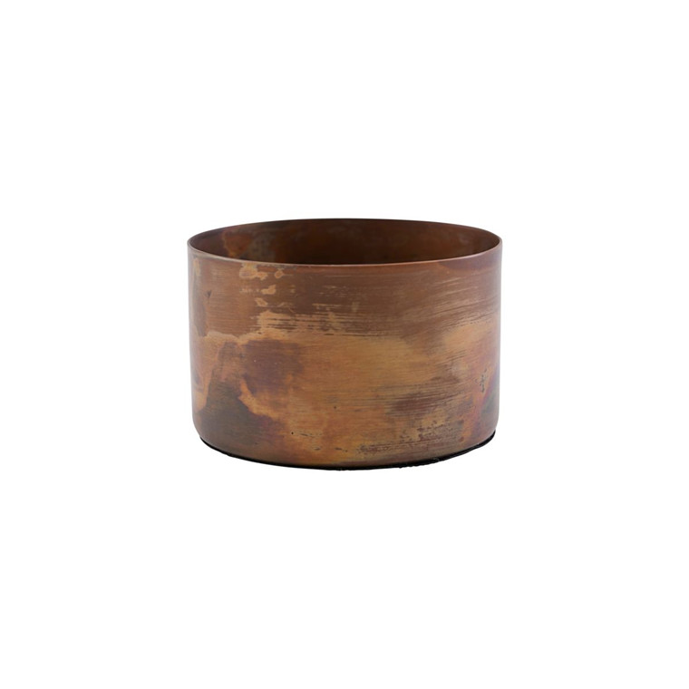 House Doctor Define Candle Stand Antique Copper