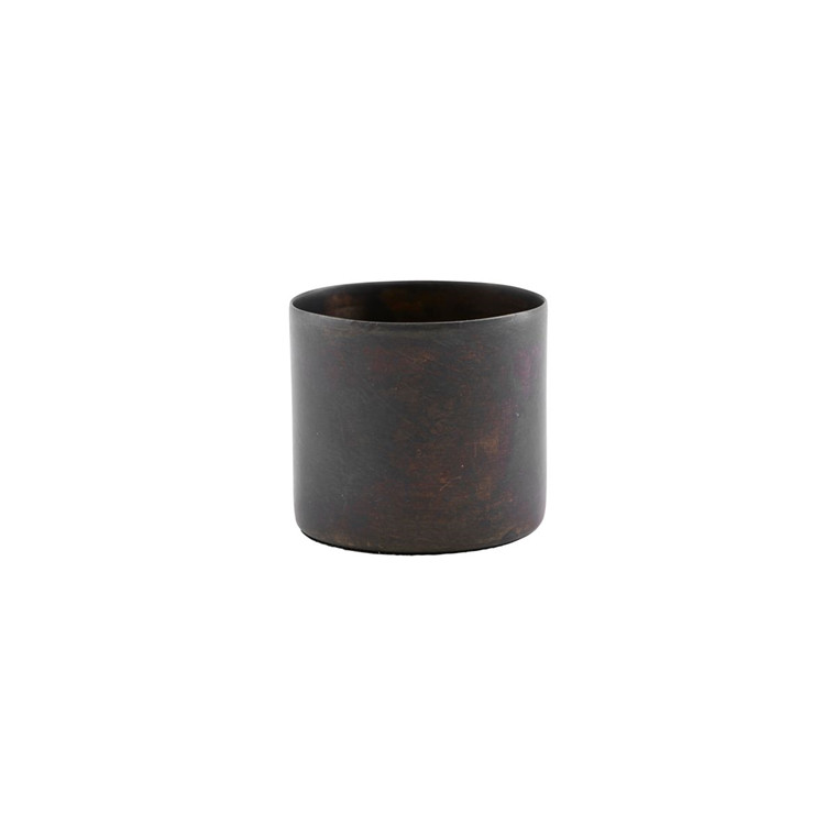 House Doctor Define Candle Holder Antique Brown