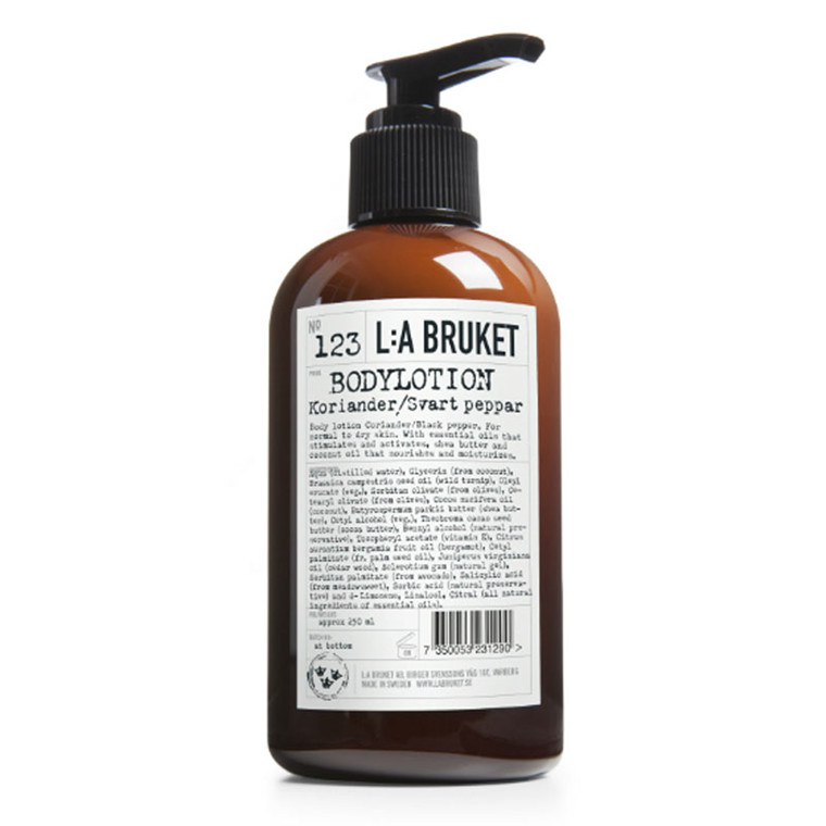 L:A Bruket Bodylotion Coriander & Black Pepper
