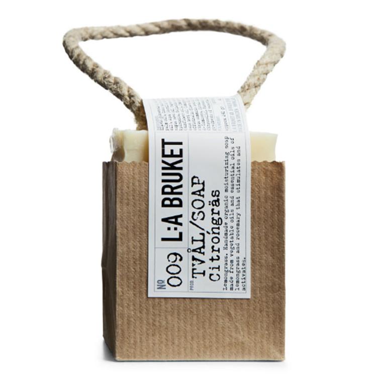 L:A Bruket Rope Soap Lemongrass